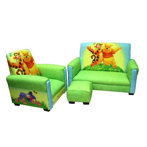 Sofa Chair For Toddler by Delta Children Disney Winnie The Pooh Upholstered