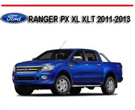ford ranger px xl xlt     repair manual