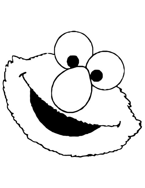 Printable Elmo Cake Template by Baby Sesame Coloring Pages Coloring Home