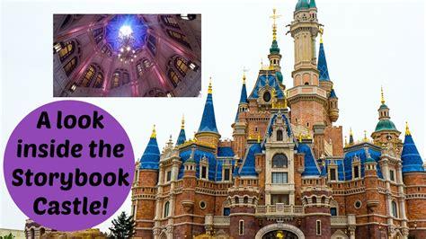 hd enchanted storybook castle shanghai disneyland youtube