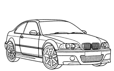 M5 Bmw Coloring Pages
