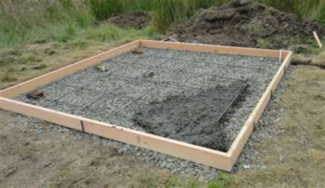concrete slab for shed base things to consider when building a shed parr lumber