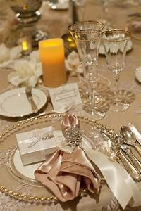 beautiful table settings Twilight-Inspired Wedding at The Langham Huntington in California | Wedding, Twilight and Tables