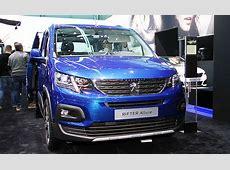 Peugeot Rifter Genfer Autosalon 2018