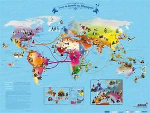 Carte Du Monde Metallique : carte du monde des musiques zebrock ~ Teatrodelosmanantiales.com Idées de Décoration