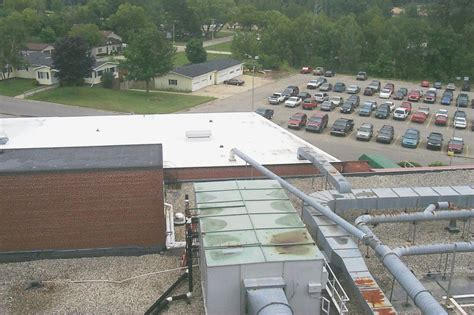 Pvc Roof Replacement With Insulation At Mercy Hospital In