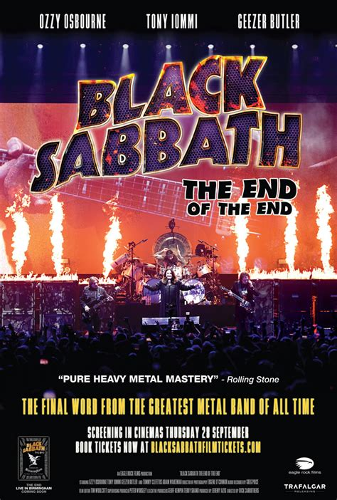 Black Sabbath 'the End Of The End' Movie Sept 28  Best Classic Bands