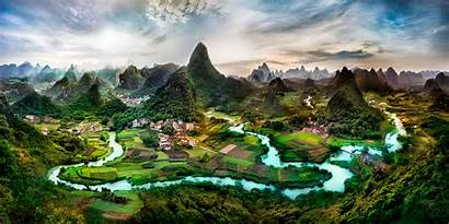China Landscape Digital Chinese Desktop Wallpapers Backgrounds