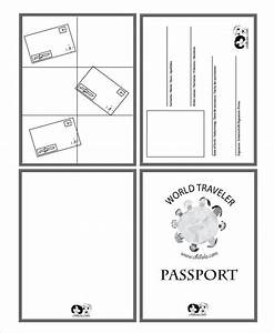 passport template 19 free word pdf psd illustrator With passport photo word template