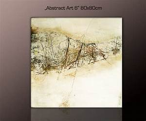 Bilder Mit Rahmen Kaufen : top bilder abstraktes wandbild xxl g nstig modern abstract art 6 80x80cm deko bilder fertig ~ Buech-reservation.com Haus und Dekorationen