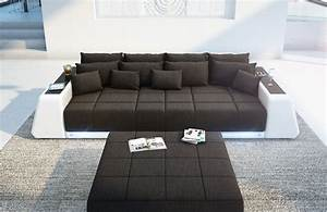 Big Sofa Mit Led : big sofa vice met led verlichting nativo design meubelen ~ Frokenaadalensverden.com Haus und Dekorationen