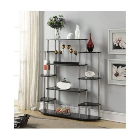 Wall Etagere by Wall Unit Bookcase Etagere Bookshelf Display Shelves Stand