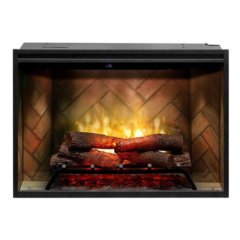 dimplex  revillusion built  electric fireplace