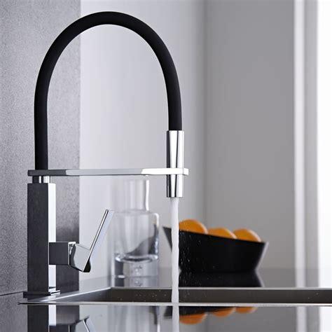 mitigeur cuisine noir avec douchette kt0039c plomberie sanitaire chauffage