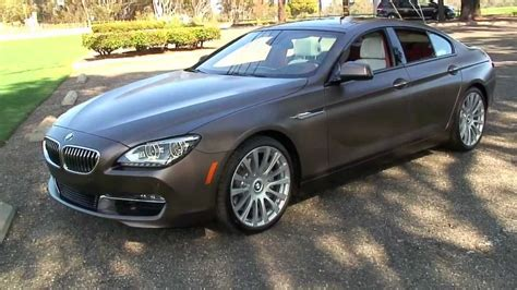2012 Bmw M6 Cabriolet And 640i Gran Coupe 640i Gran Coupe