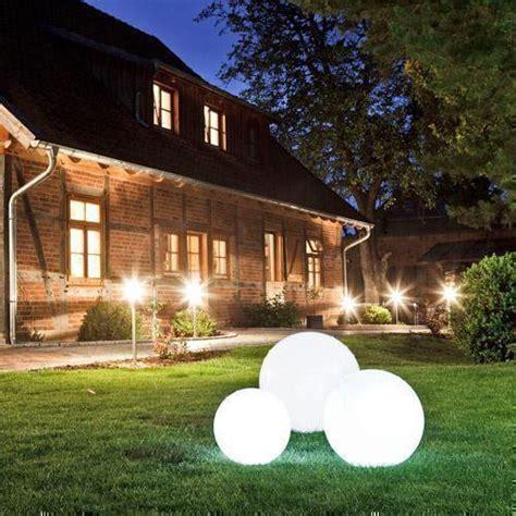 Beleuchtung Im Garten  Einsatz Von Led Und Energiesparlampen