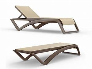 Chaise Longue Confortable : chaise longue design sky moderne et confortable blog deco deco jardin ~ Teatrodelosmanantiales.com Idées de Décoration