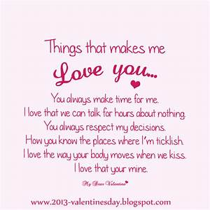 Quotes on Love - I love you Quotes for Valentines day 2013 ...
