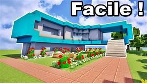 Comment Faire Une Maison : comment faire une belle maison sur minecraft tuto ~ Dallasstarsshop.com Idées de Décoration