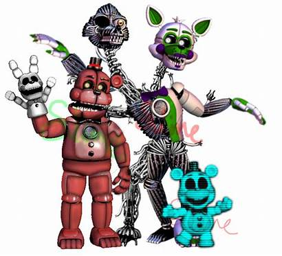 Fnaf Enemies Edit