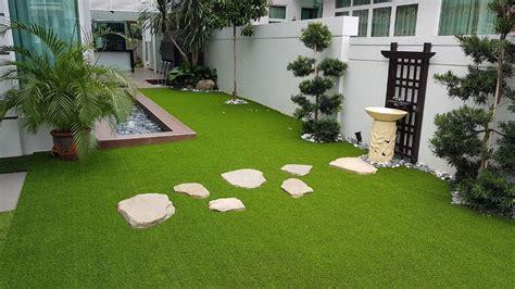 Tren desain rumah minimalis menjadi konsep hunian yang diidolakan dalam pengembangan perumahan. 30 Gambar Idea Mini Landskap Simple Untuk Hias Laman ...