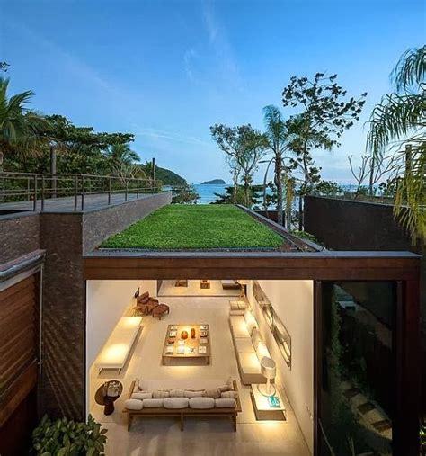 rumah minimalis blends  nature majalah rumah
