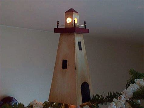 lighthouse christmas tree topper