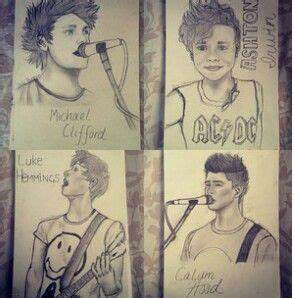 #5SOS a Fan.draw | 5sos | Pinterest | 5sos, I wish and Mothers