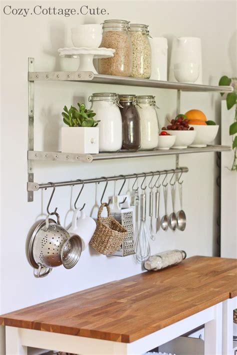 ikea hanging kitchen storage 25 best ideas about ikea kitchen shelves on 4444