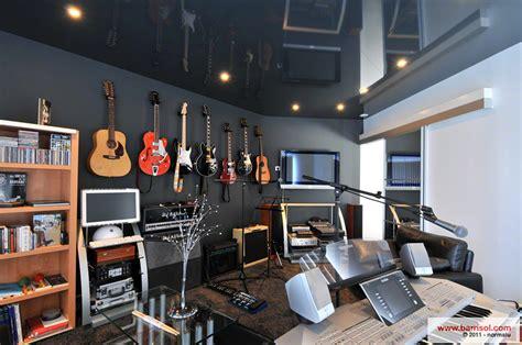 bureau studio musique déco studio de musique