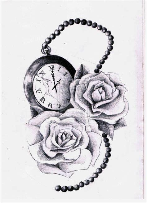 roses pocketwatchnow add  bird     flowers    love  tattoo ideas