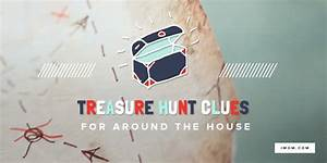10 treasure hunt clues