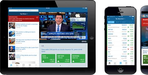 cnbc mobile cnbc mobile app for android apple iphone