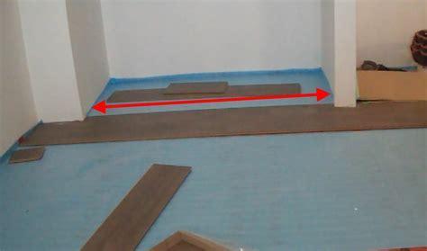 Installing Laminate Wood Flooring under a Sliding Closet
