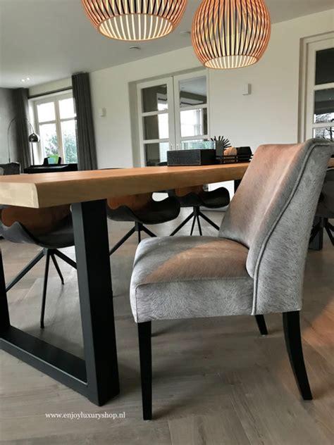 luxe eetkamerstoelen met een uitstekend luxe eetkamerstoel velours fluweel davy diverse