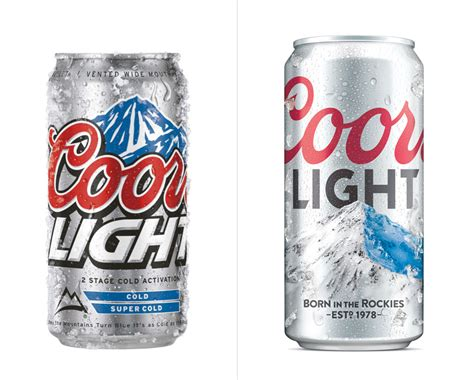 what of is coors light brand new new logo and packaging for coors light by