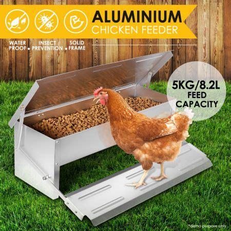 Chicken Feeders Nz by Diy Durable Rustproof Aluminum Auto Chicken Feeder