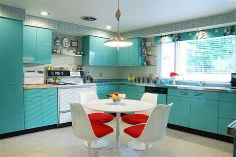light blue kitchen decor bright colors in the kitchen