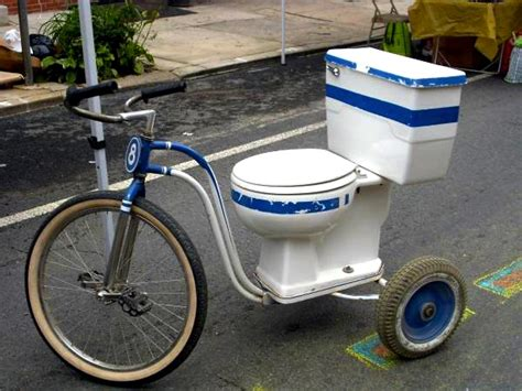 dumolin toilet get your own functioning toilet tricycle on craigslist