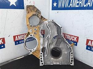 Used Front Gear Cover For Caterpillar 3126 Engine For Sale