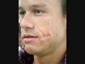 Heath Ledger (The Joker no makeup) - YouTube