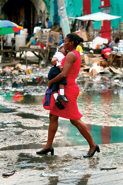 deaths  haiti compared  chile