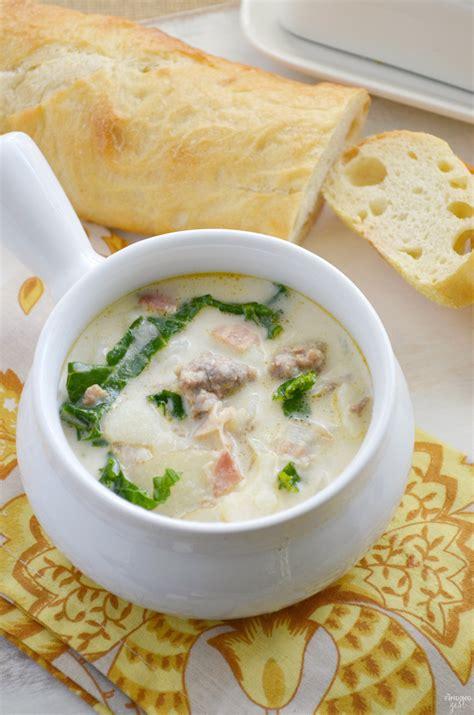 copycat zuppa toscana soup recipe  olive garden