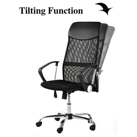 desk chair with arms and wheels greenforest office chair with mesh support high back task