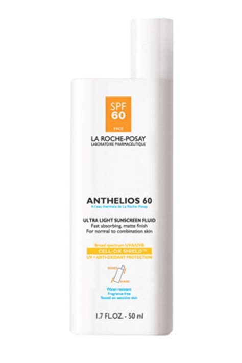 la roche posay anthelios 60 ultra light sunscreen fluid drugstore products the pros bargain products