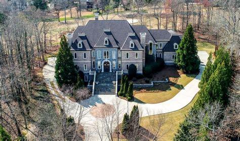 square foot brick stone mansion  braselton georgia homes   rich