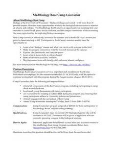 Counselor Description For Resume by C Counselor Resume Ideas
