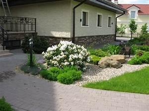 Vorgarten Mit Kies : vorgarten gestalten 41 pflegeleichte und moderne beispiele ~ Udekor.club Haus und Dekorationen