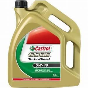 Huile 5w40 Diesel Leclerc : castrol edge turbo diesel 5w40 huile moteur voiture ~ Dailycaller-alerts.com Idées de Décoration