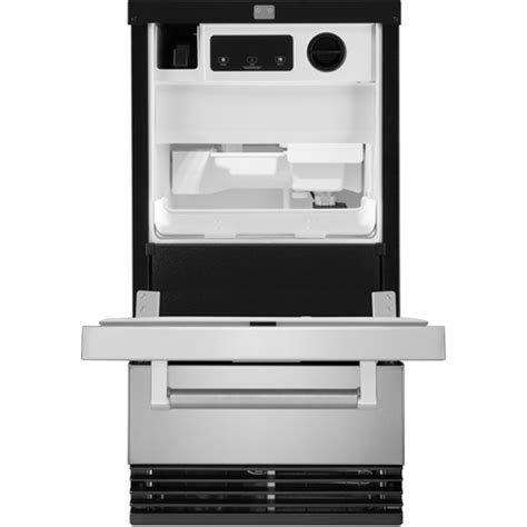 Kitchenaid Undercounter Refrigerator With Maker by Kitchenaid Kuid308ess Ss 18 Stainless Steel Automatic